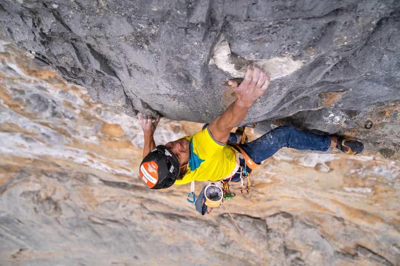 Roger Schaeli Rock Climbing