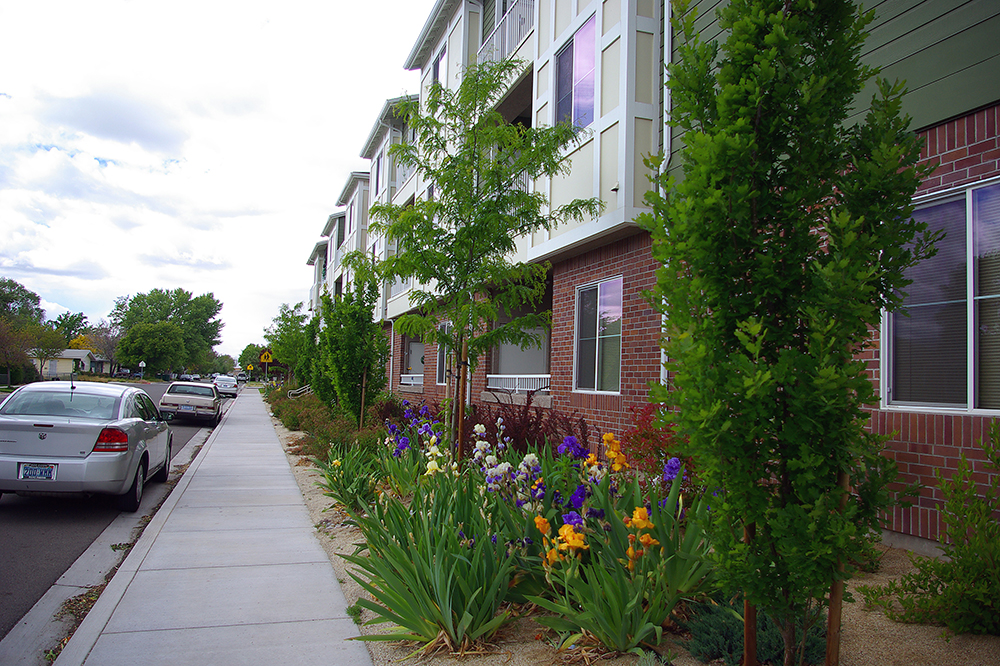 City Hall Senior Apartments Is A Senior Housing Project Located On A  ±.68 Acre Site Situated On The Southwest Corner Of Wright And 5th Streets  In Sparks.