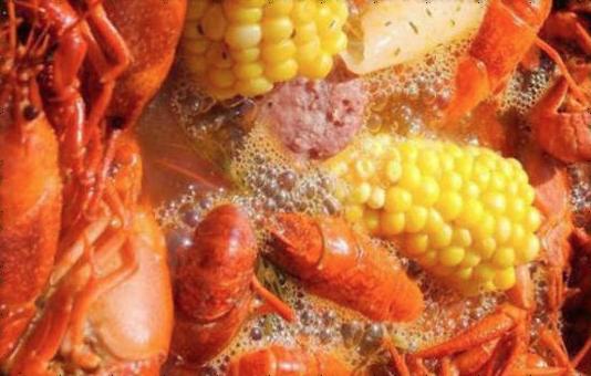 The Annual Crawfish Boil!