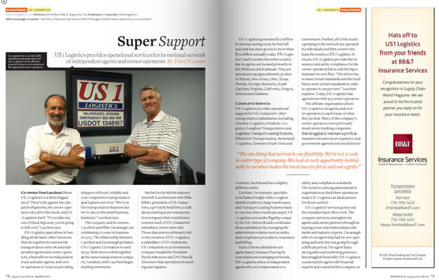 Superior Logistics Services and Support