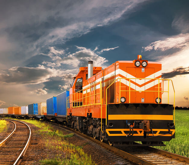 Train vs. trucks Intermodal Drayage