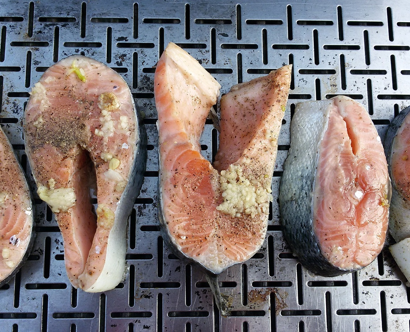 Broiled fish can be very tasty