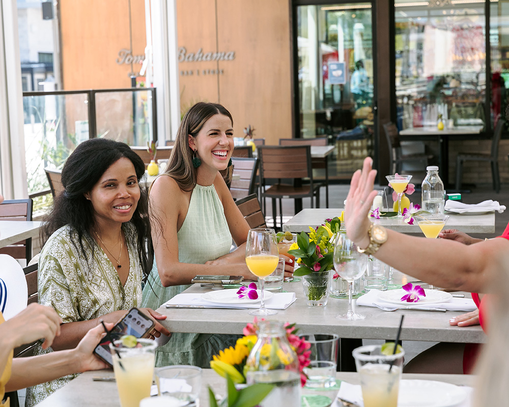 dallas blogger brunch