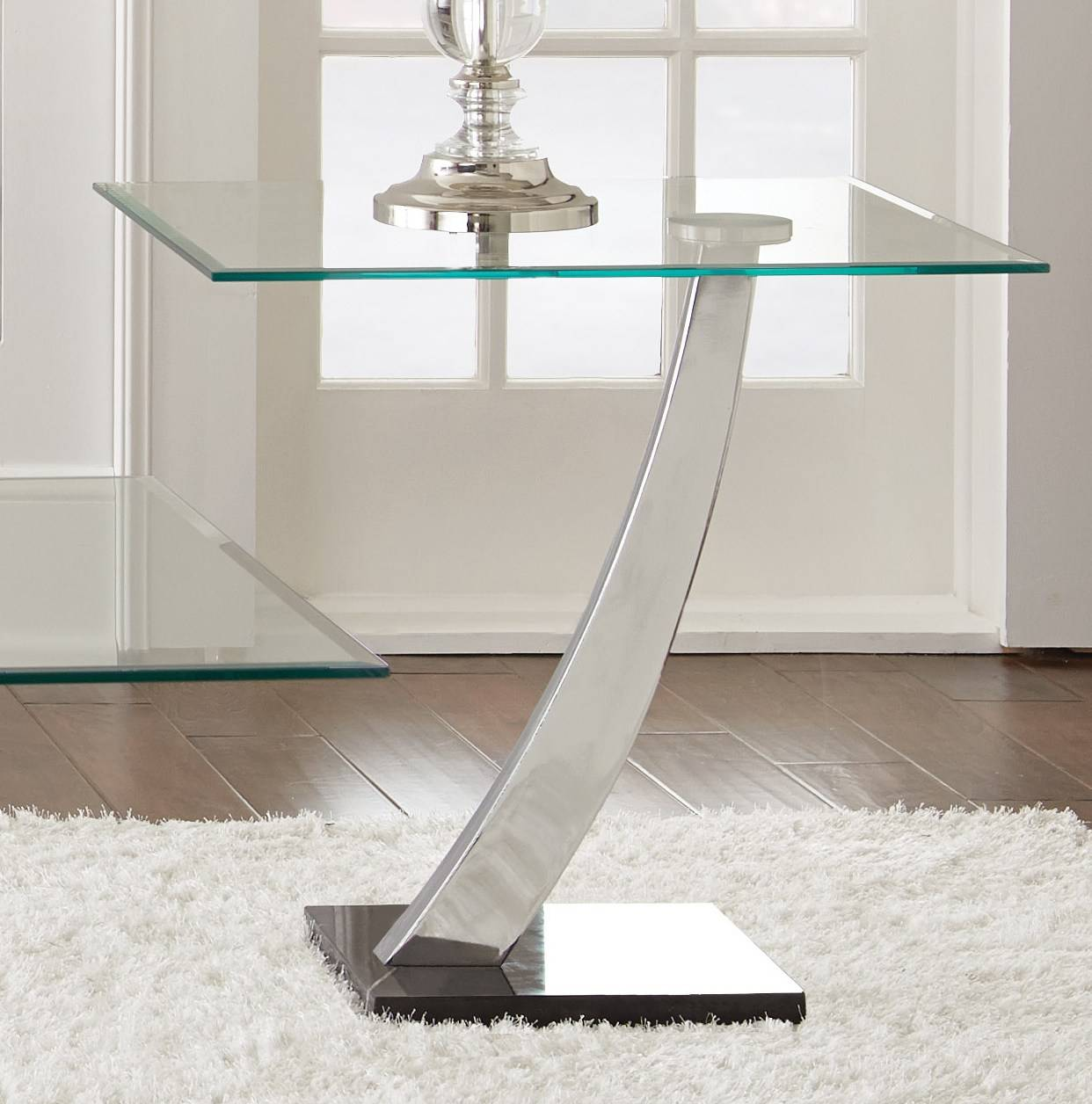 ... Silver Winston 4 Piece Coffee Table Set In Distressed Steve ...