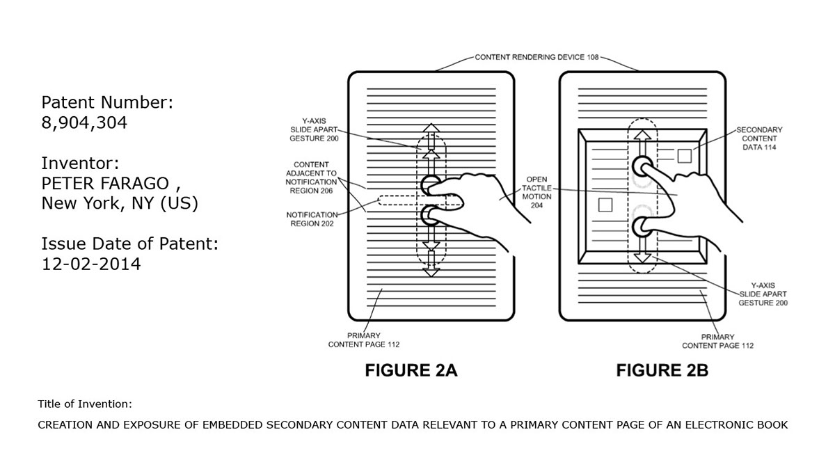 OpenPage™ Patent Number 8904304