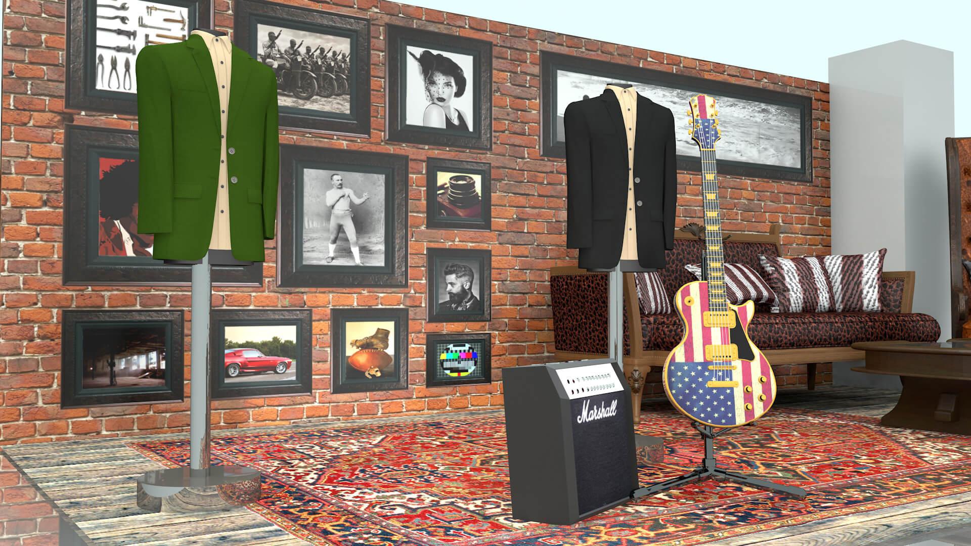 John Varvatos Mens Fashion Designer Pop Up Shop