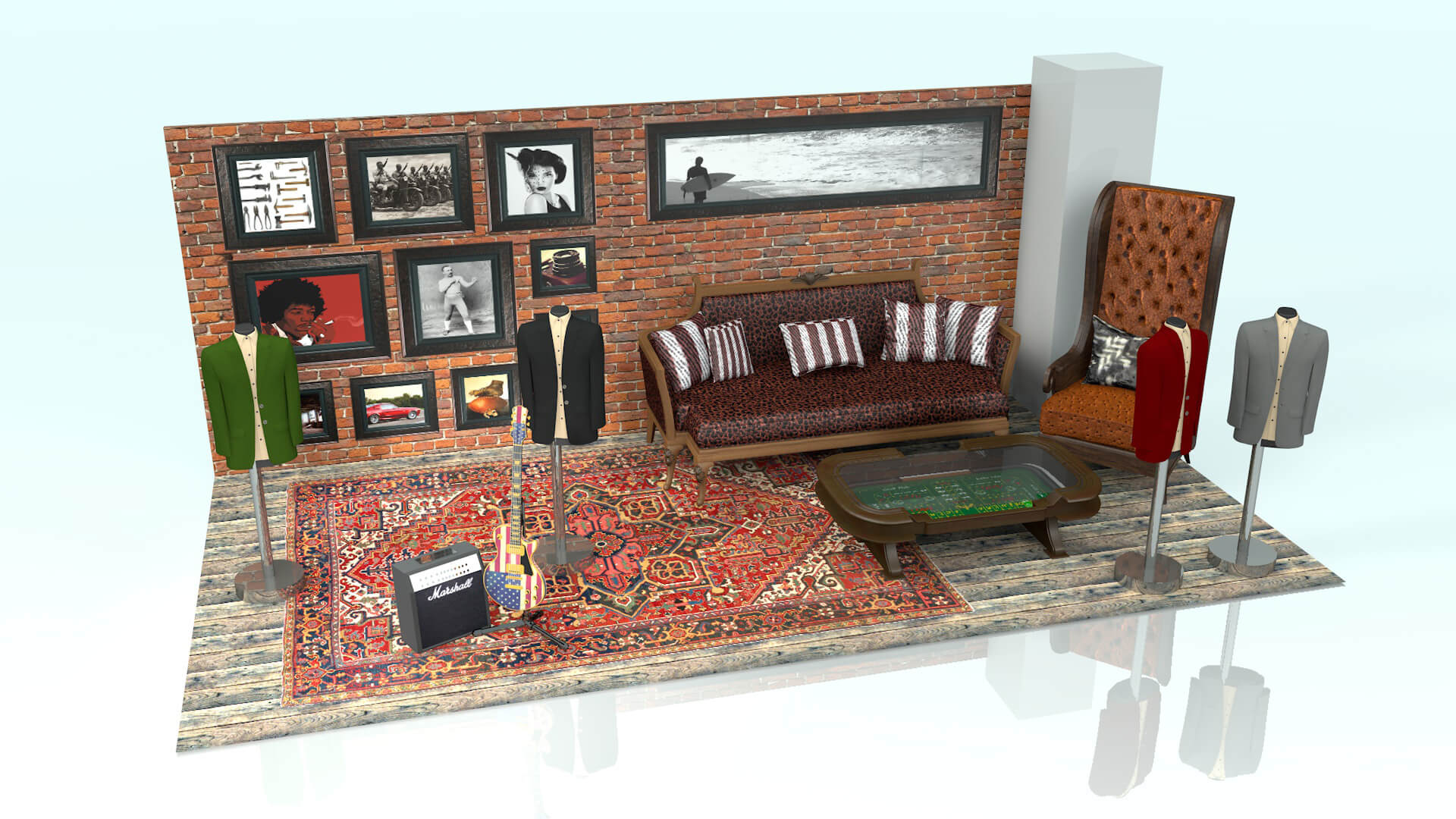 John Varvatos Exhibition Stand Design