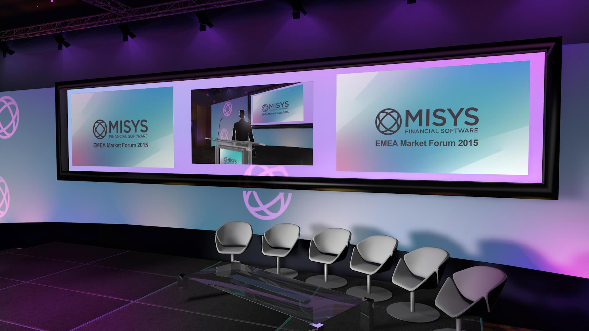 Misys Forum Design Stand Design