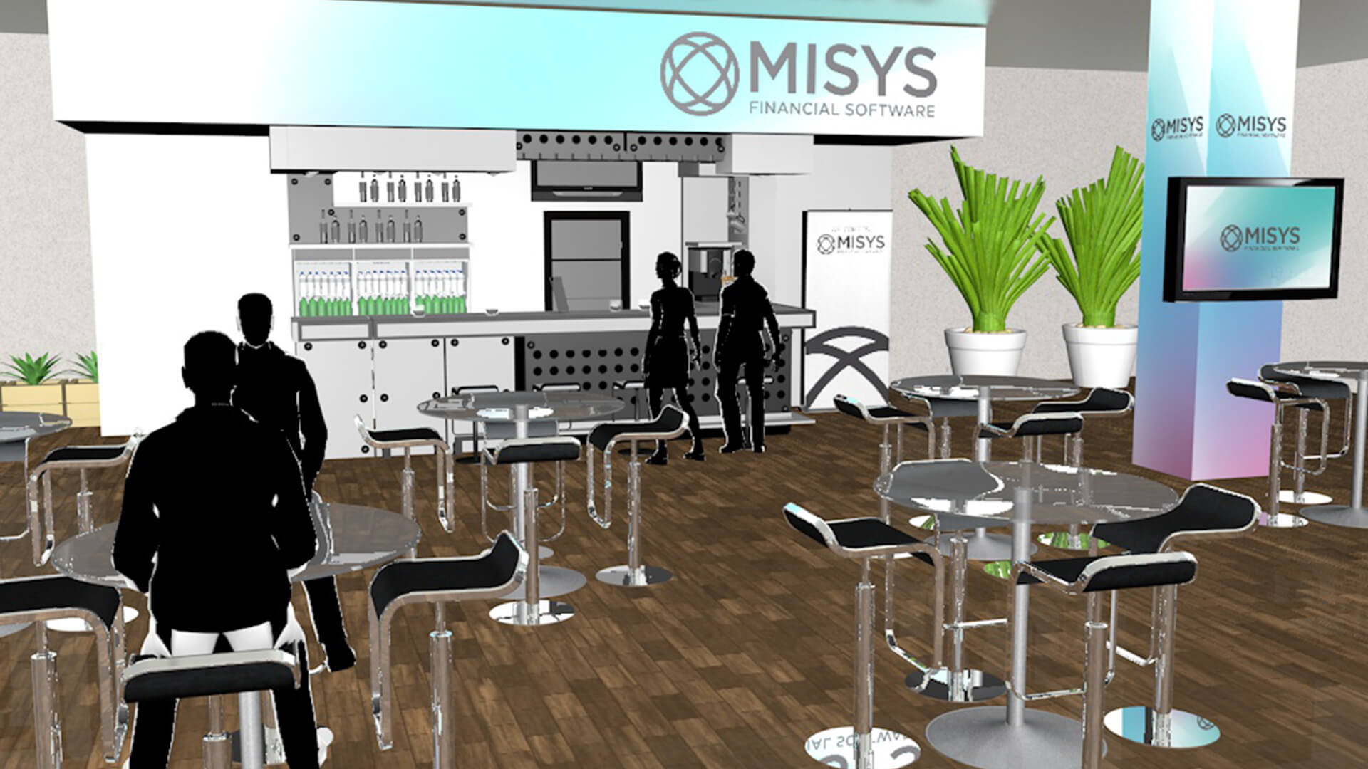 Misys Event Theme and Set Design