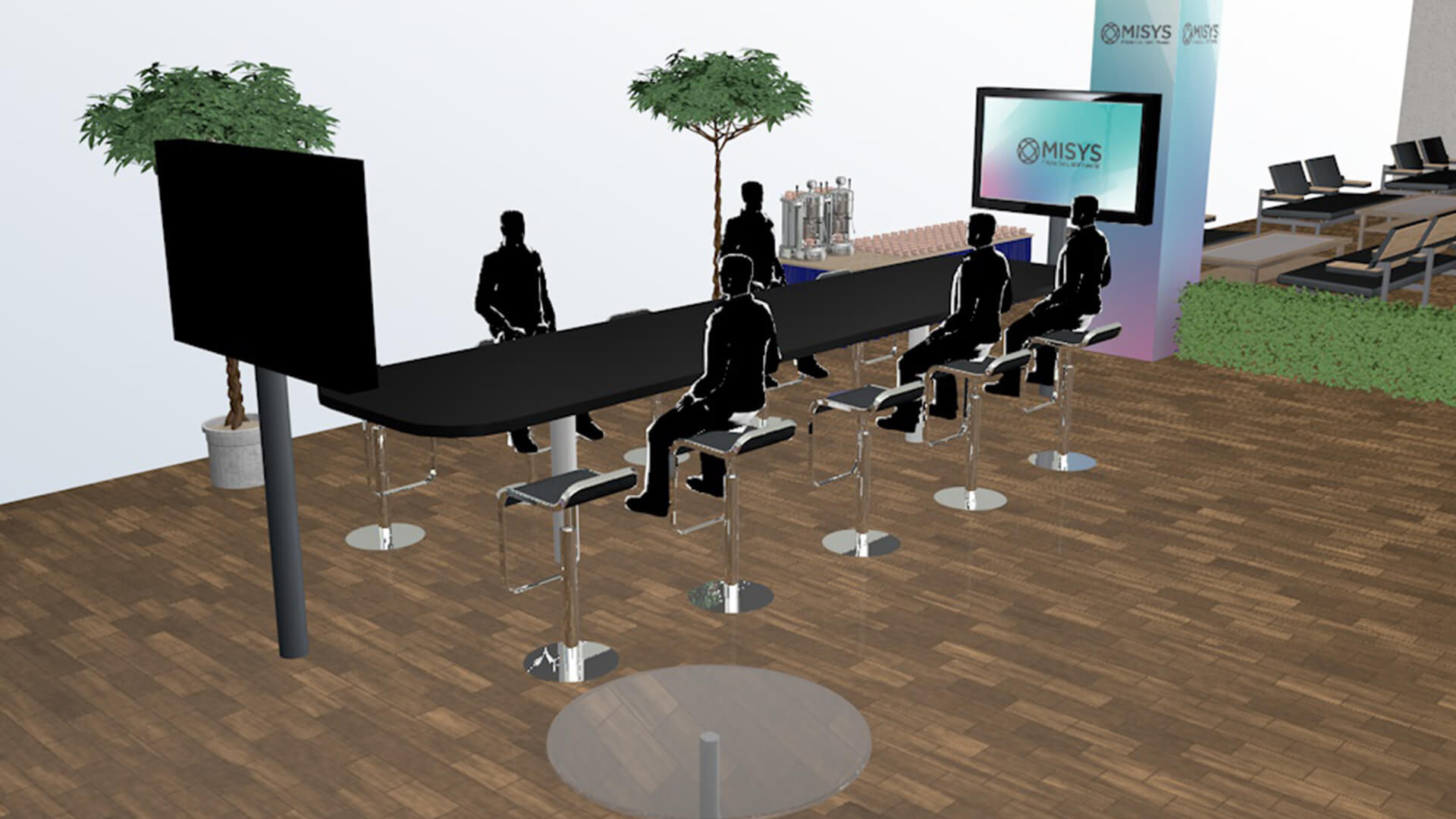 Misys Creative Design 3D Stand Design