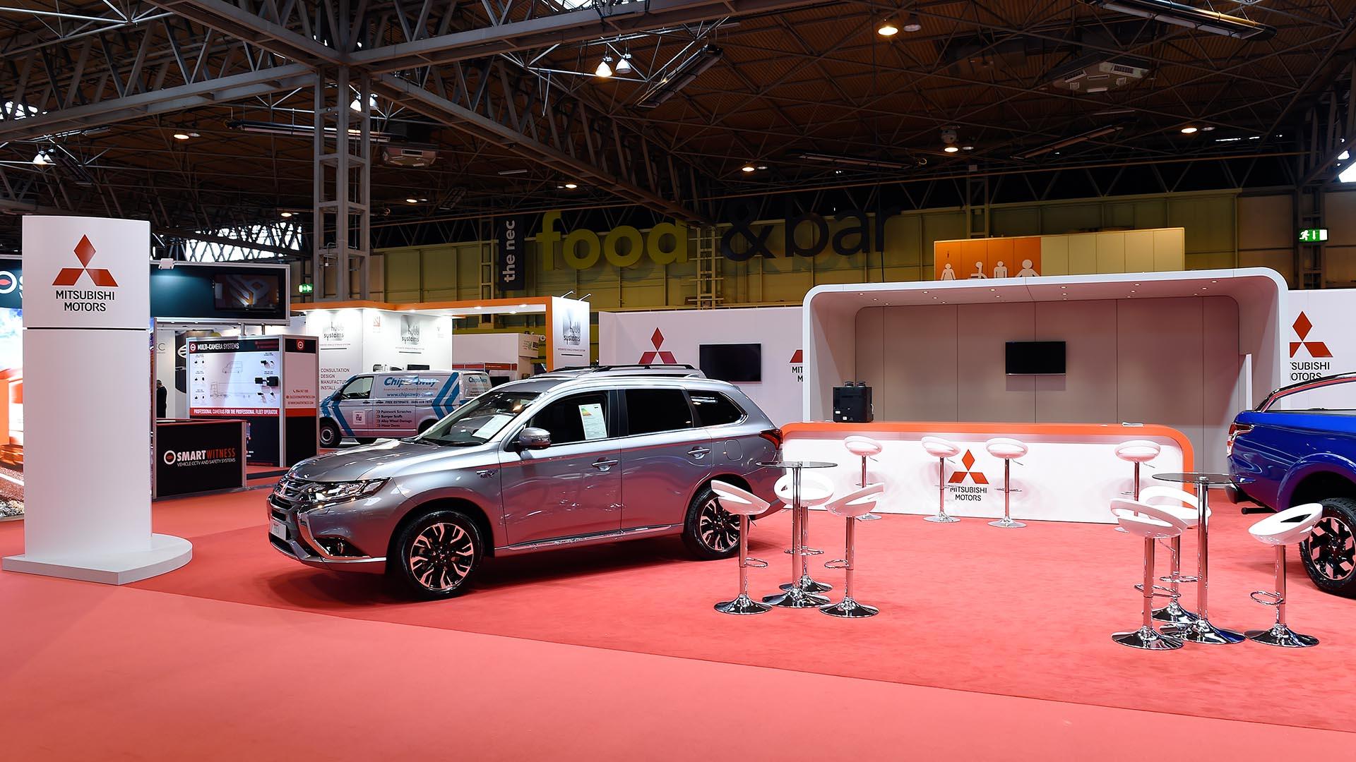 3D Stand Design Expo Mitsubishi