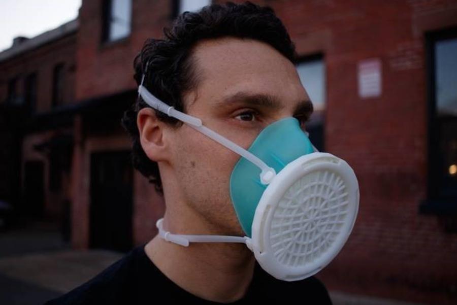 3D printed respirator