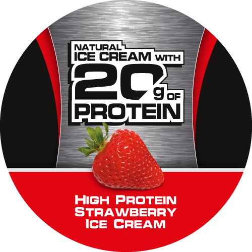 20/20 Fitness High Protein Ice Cream Strawberry
