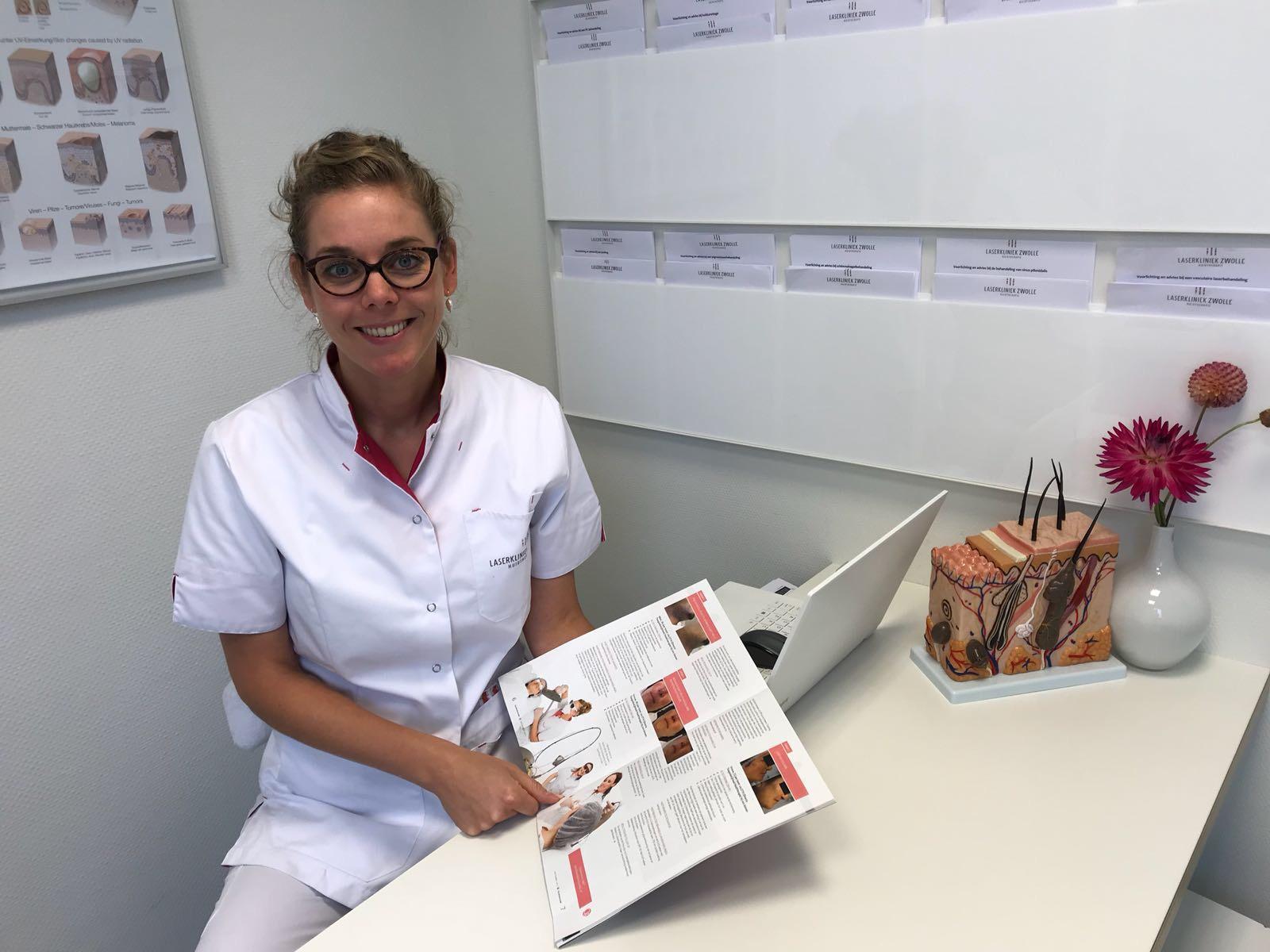 Laserkliniek Zwolle als expert Huidtherapie is onze passie