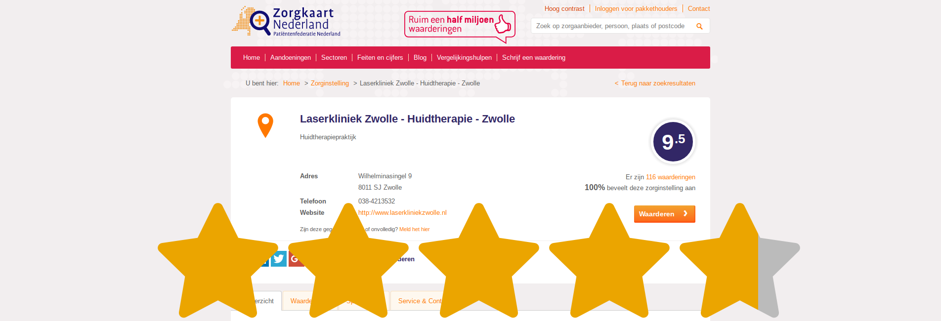 Reviews over Laserkliniek Zwolle