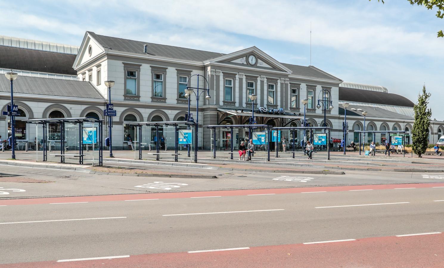 Station Zwolle dicht (dus geen treinen)