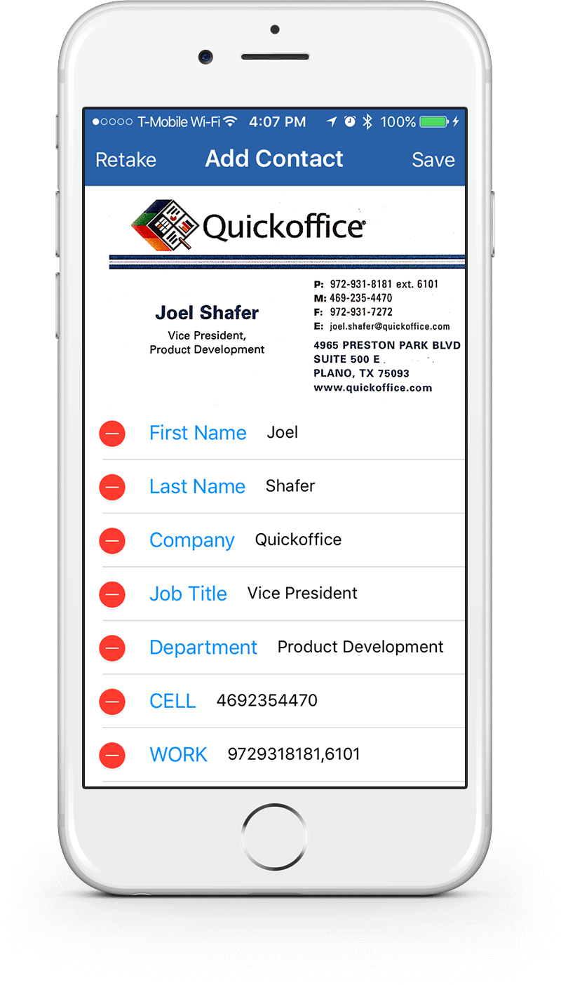 Notate cards convert business cards into outlook contacts colourmoves