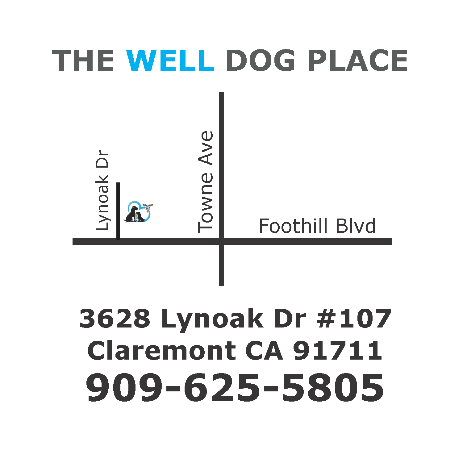 Map to Holistic Vet in Inland Empire