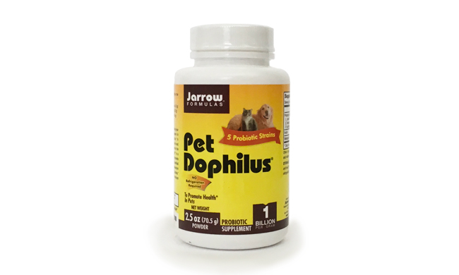 Pet Dophilis is a probiotic that can help prevent allergies