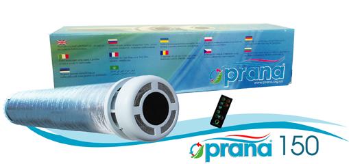 """Rekuperators """"Prana-150"""" – decentralizēta ventilācijas sistēma"""