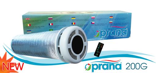 """Rekuperators """"Prana-200G"""" – decentralizēta ventilācijas sistēma"""