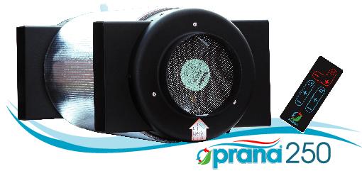 Prana–250 rekuperators