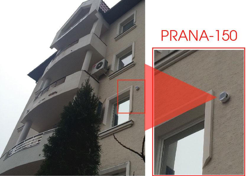 Rekuperators PRANA dzīvoklī un mājā