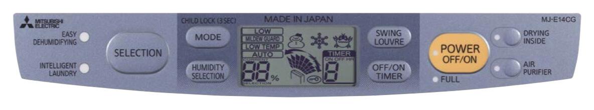 Осушитель воздуха «Mitsubishi Electric MJ-E14CG-S1» 3