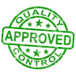Quality certification ISO 9001