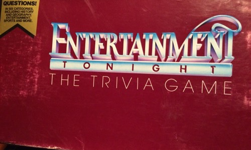 Entertainment Tonight Board Game