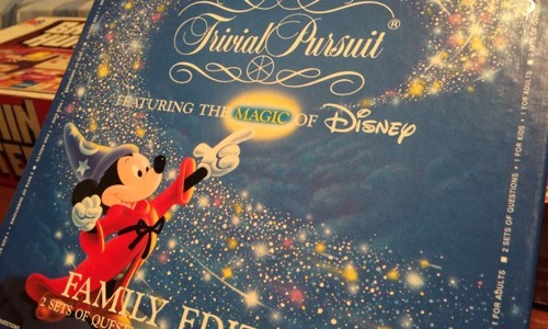 Mickey's Trivial Pursuit board game