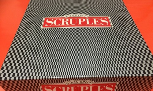 Scruples board game from the 80s