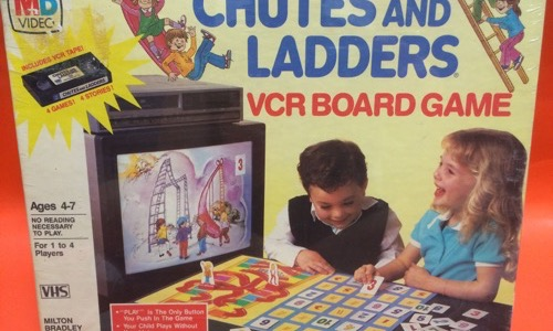 Chutes and Ladders VCR game