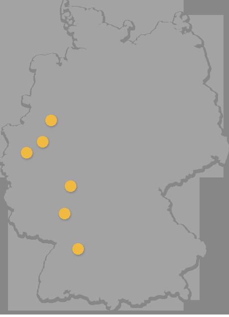 echtesNLP Standorte in Deutschland