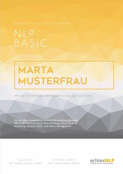NLP Basic Zertifikat