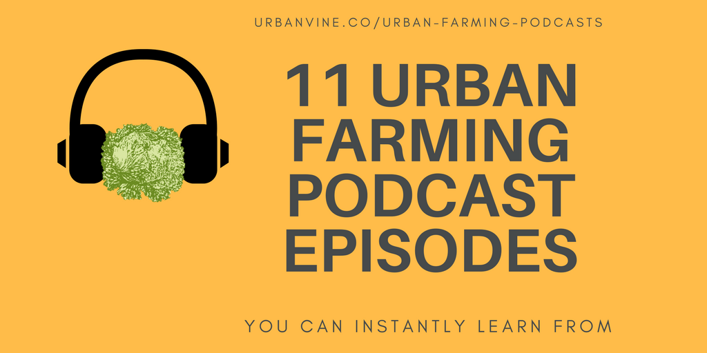 11 Urban Farming Podcast Episodes You Can Instantly Learn From