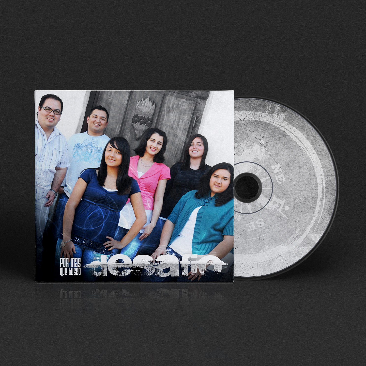 CD Design Por Mas Que Busco | Desafio Band