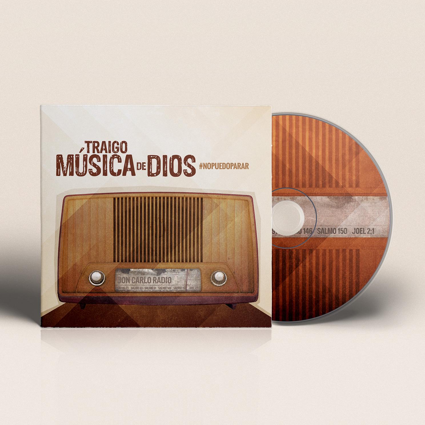 CD Design Traigo Musica de Dios | Jon Carlo Band