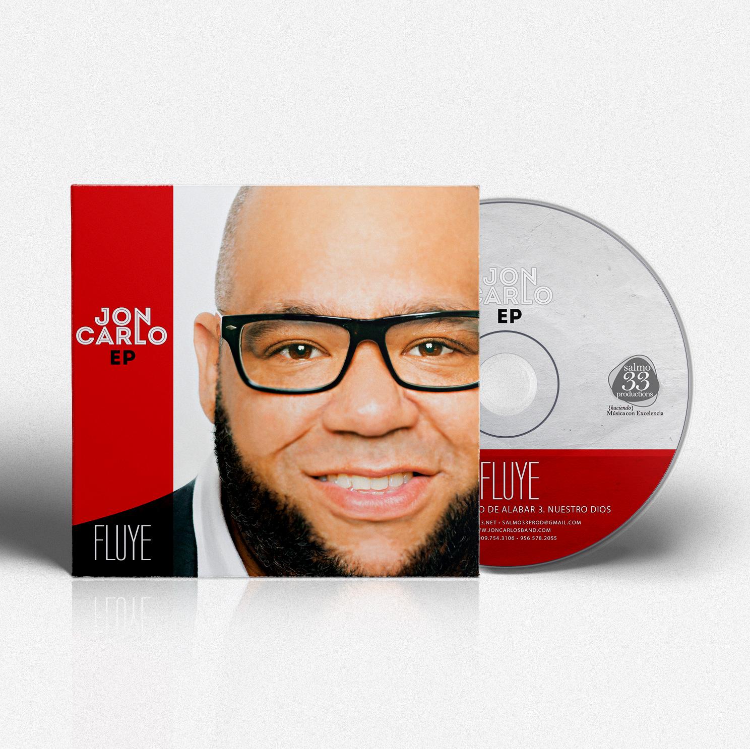 CD Design EP Fluye | Jon Carlo Band