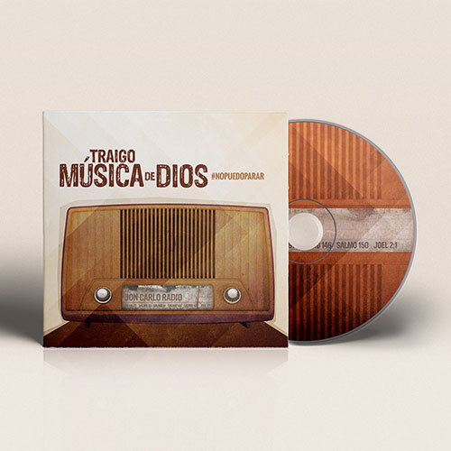 Catholic Christian Artist CD Design Traigo Musica de Dios | Jon Carlo Band