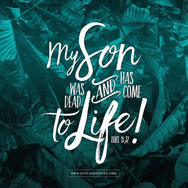 Prodigal Son Luke 15 Bible Verse Scripture