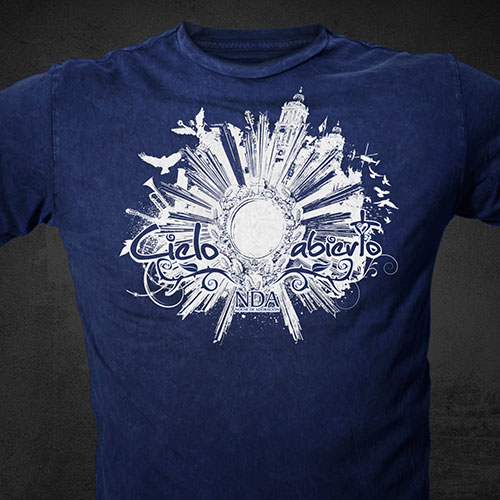 Catholic Christian T-Shirt Design | Cielo Nuevo