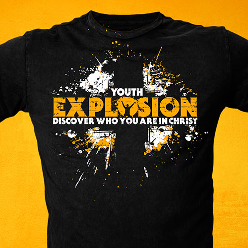 Event T-Shirt Design | Youth Explosion