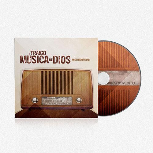 Diseño de CD Traigo Musica de Dios | Jon Carlo Band