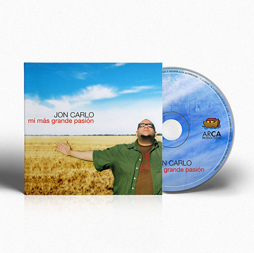 CD Design Mi Mas Grande Pasion | Jon Carlo Band