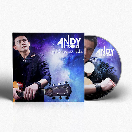 CD Design Palabras de Vida | Andy Torres
