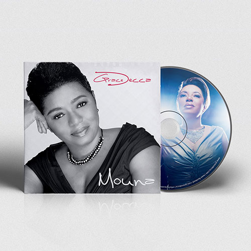 CD Cover Design Mouna | Grace Decca