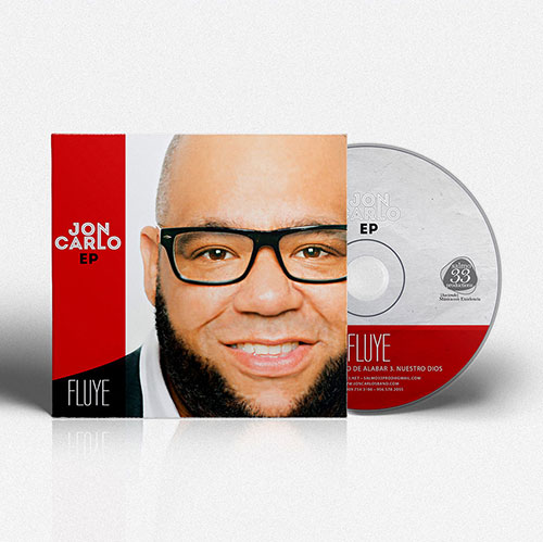 CD Design EP Fluye | Jon Carlo Band