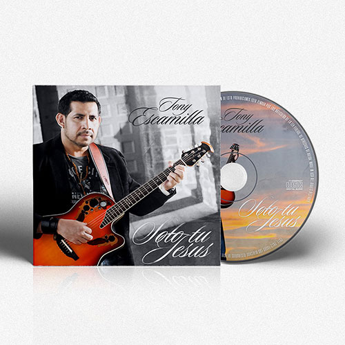 CD Design Solo tu Jesus | Tony Escamilla