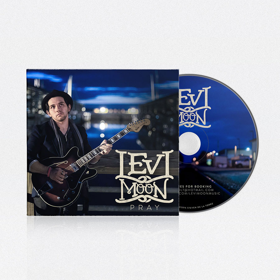 CD Design Pray | Levi Moon